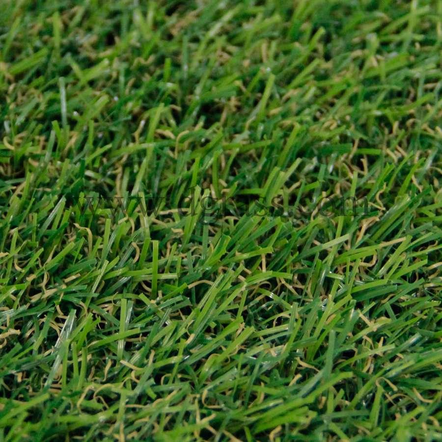 หญ้าเทียมปูพื้น ใบยาว 2 cm. 2Aมีหญ้าแห้ง