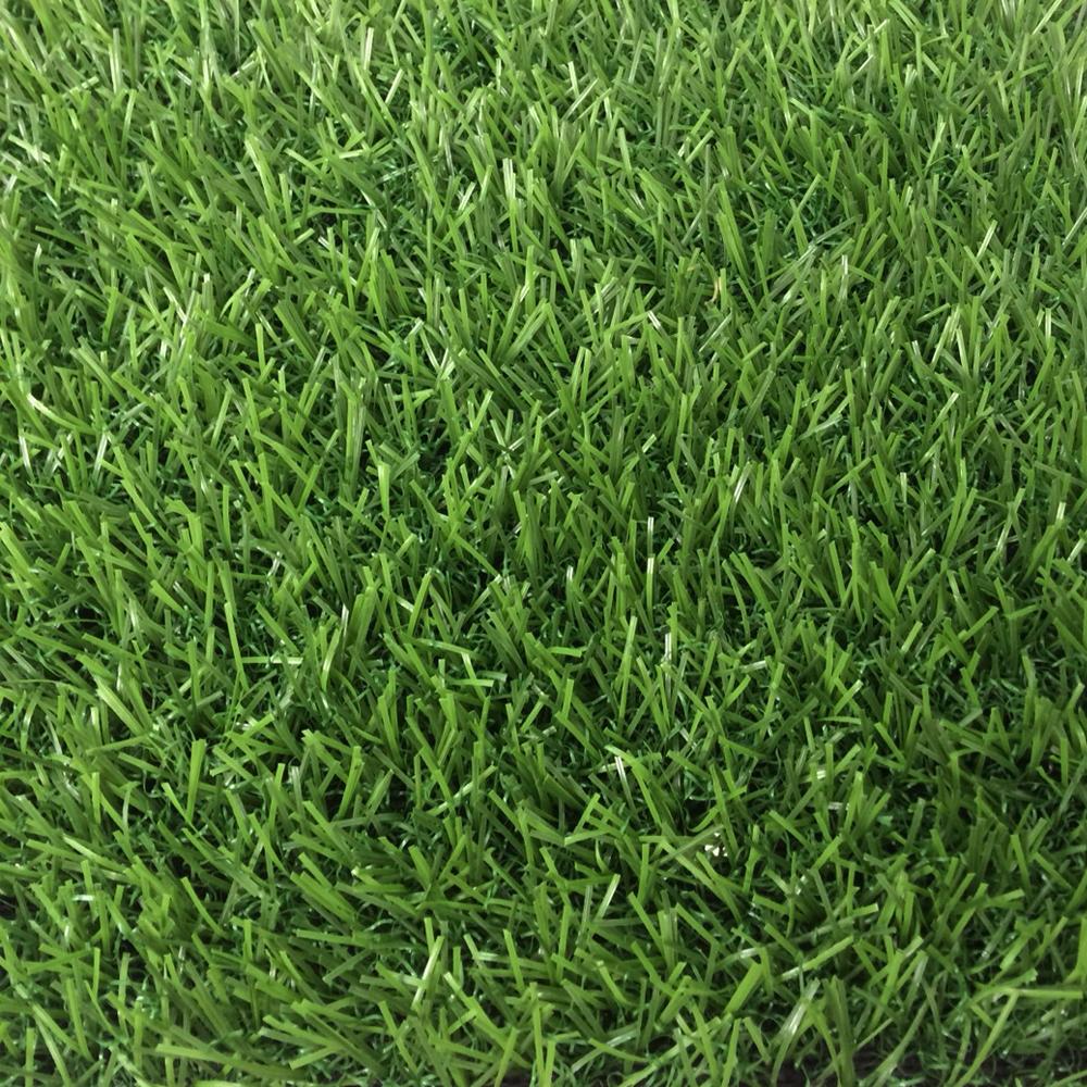 หญ้าเทียมปูพื้น ใบยาว 2 cm. 2Rสีเขียวล้วน